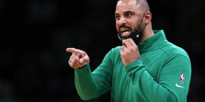 First-year Celtics coach Ime Udoka benches player for complaining to refs: 'That's not the team we want to be'