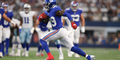 Giants' Kadarius Toney issues statement after throwing punch at Cowboys, reportedly won't be suspended