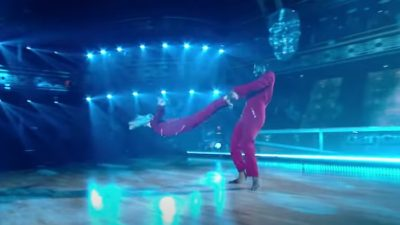 Iman Shumpert receives perfect score on Dancing with the Stars
