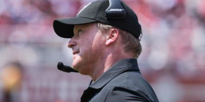 Jon Gruden offers cryptic statement in first comments since losing Raiders job over controversial emails