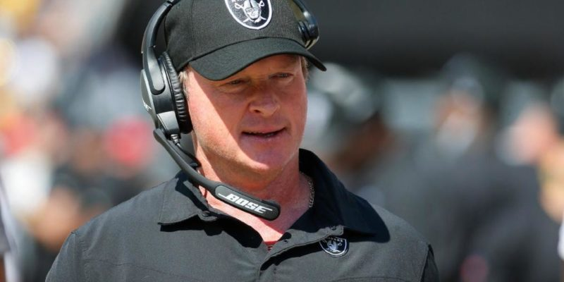 Jon Gruden timeline to resignation: How Raiders coach went from 10-year deal to early exit from Las Vegas