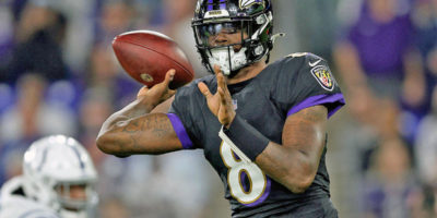 Lamar Jackson has more total yards than 18 NFL teams, including the NFC North-leading Packers