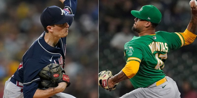 Max Fried, Frankie Montas are Pitchers of the Month