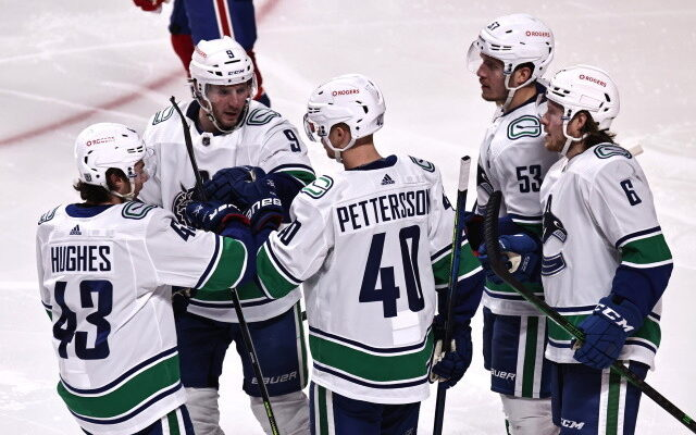 NHL News: Hamonic Doesn't Opt-Out, Pettersson, and Hughes Re-sign