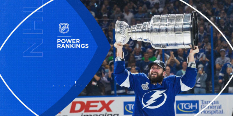 NHL Power Rankings: Can any team stop the Tampa Bay Lightning?