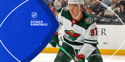 NHL Power Rankings: Wild take the early top spot as Sabres, Panthers and Penguins impress in first week
