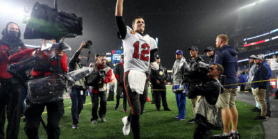Patriots get a taste of Tom Brady's knack for winning; Bucs QB finds way to victory despite so-so performance