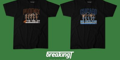 WNBA: Buy Phoenix Mercury or Chicago Sky Finals T-shirt!