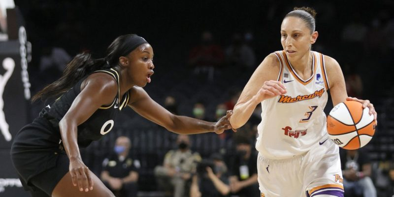 WNBA: Diana Taurasi, unreal again, sends Phoenix Mercury to Finals