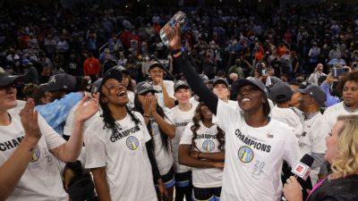 WNBA Finals: Candace Parker, Chicago Sky win 2021 championship