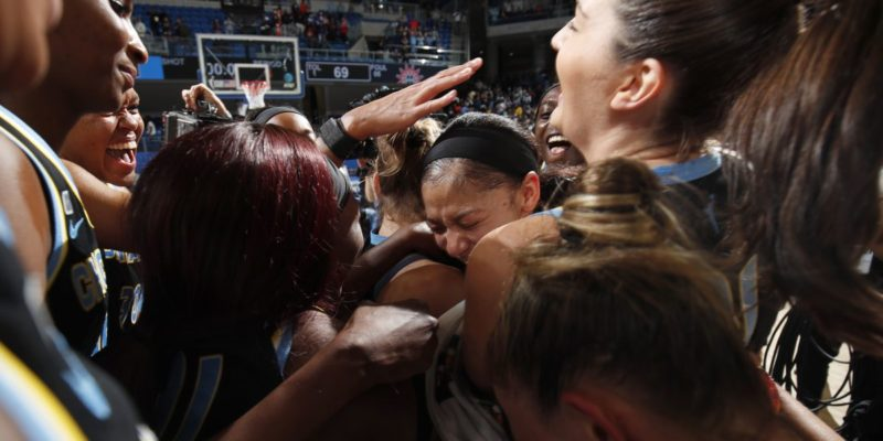 WNBA Playoffs: Candace Parker, Chicago Sky headed to Finals