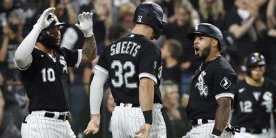 White Sox' Leury García hits go-ahead home run vs. Astros